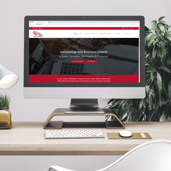 Jones, Savarese, Harrington & Company Website Design