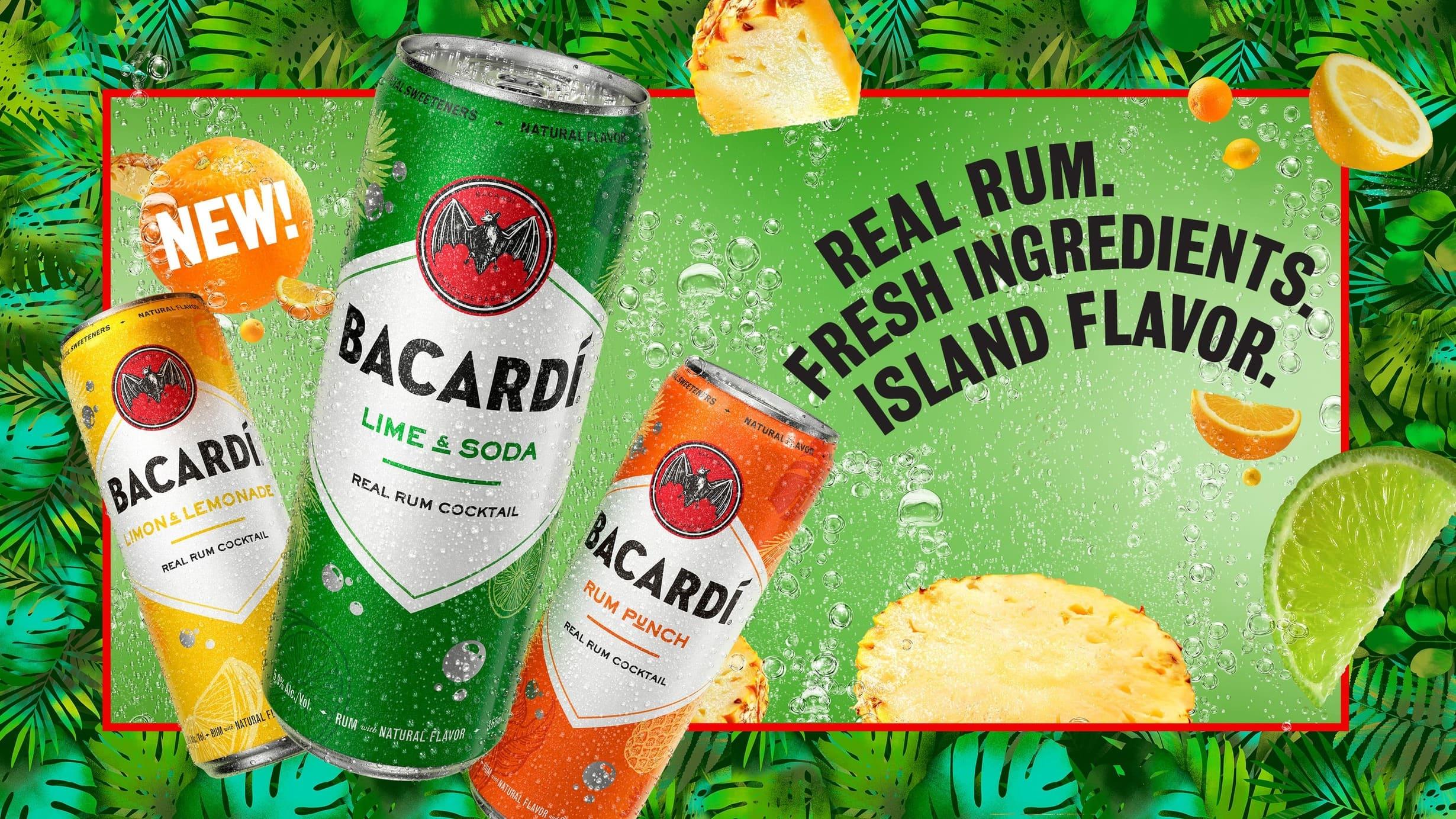 Bacardi Island Flavors Advertisement